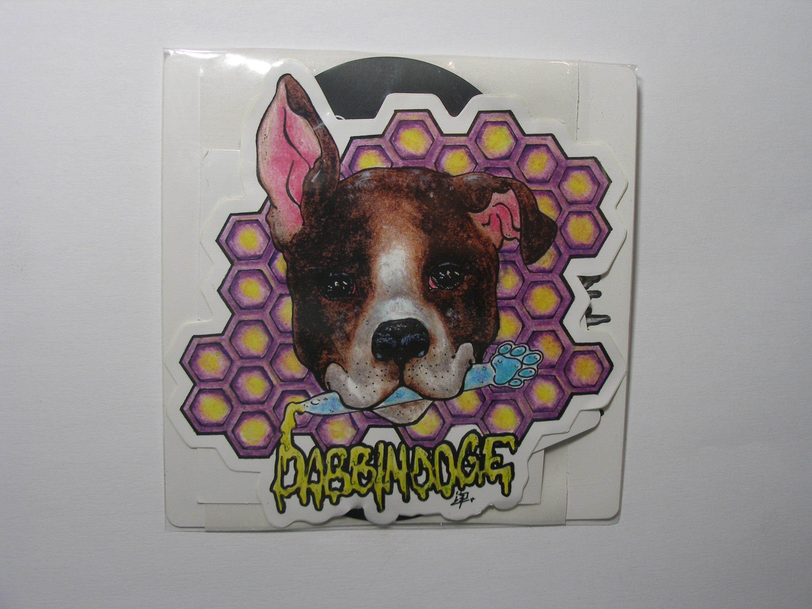 DabbinDoge Slap Sticker Pack
