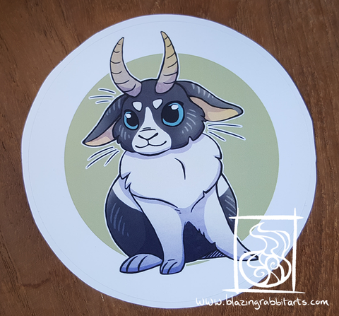 Cryptid Sticker 'Jackalope'