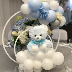 The Bear Balloon centerpiece