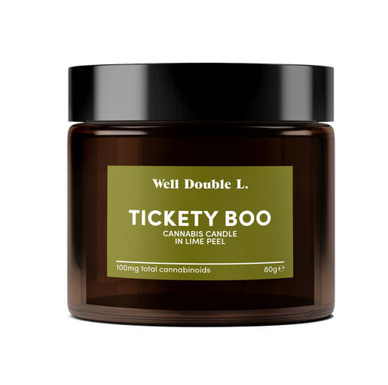 Tickety Boo Cannabis Candle