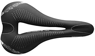 Selle Italia Women's Diva Gel Superflow Bicycle Saddle - TI 316 Tube