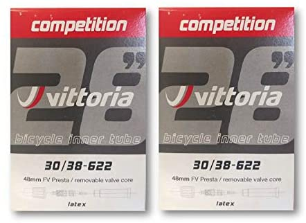 Vittoria Competition Latex Inner Tubes 2 Pack