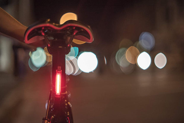 Knog Plus Clip-On Bike Light: LED, Waterproof, Universal Mount Bicycle/Running Light
