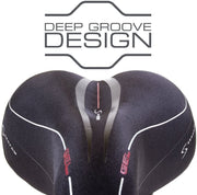Serfas FS-243 Full Suspension Hybrid Reactive Gel Saddle