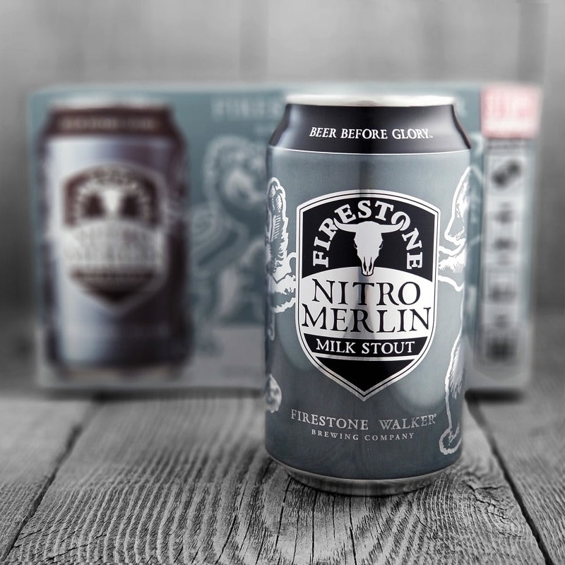 Firestone Walker Brewing Co - Nitro Merlin Milk Stout