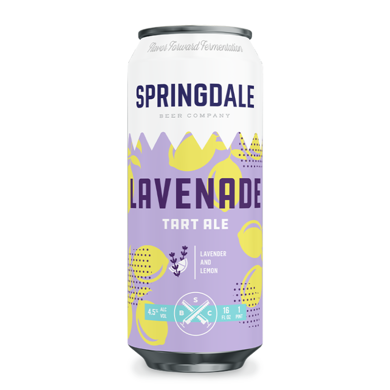 Springdale Beer Co - Lavenade Sour NEW ARRIVAL