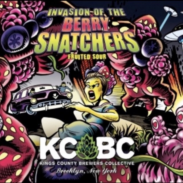 KCBC Brewers - Invasion of the Berry Snatchers Sour NEW ARRIVAL