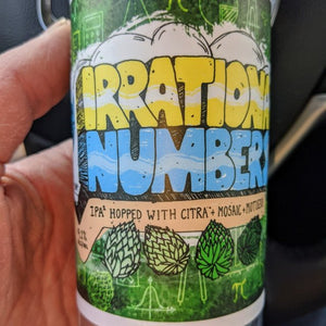 Rushing Duck Brewing - Irrational Numbers II IPA NEW ARRIVAL