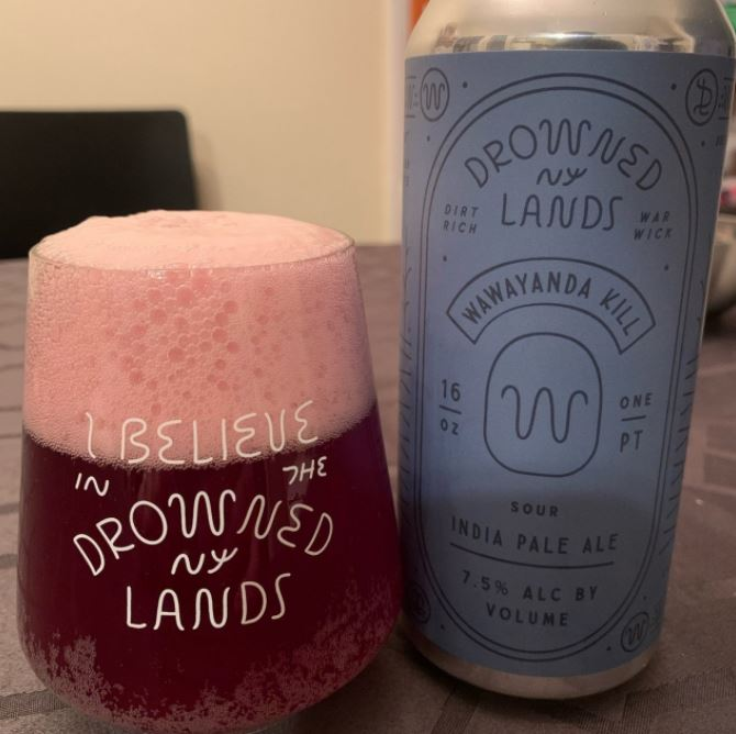 The Drowned Lands Brewery - Wawayanda Kill Sour IPA NEW ARRIVAL