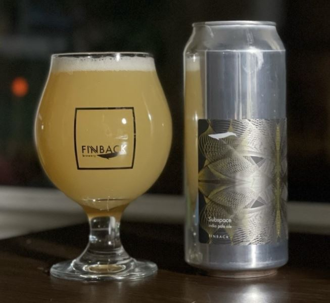 Finback Brewery - Subspace IPA NEW ARRIVAL