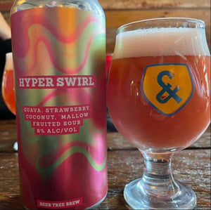 Beer Tree Brew Co - Hyper Swirl Sour: Guava, StrawBerry, Coconut, Marshmallow NEW ARRIVAL