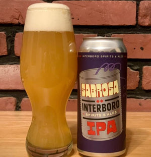 Interboro Brewing - Sabrose IPA collab with Barrier Brewing NEW ARRIVAL