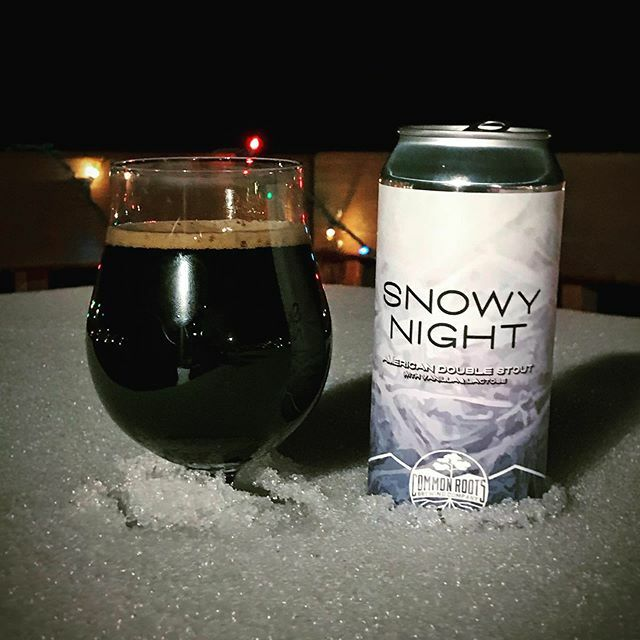 Common Roots Brewing Co - Snowy Night II Milk Stout NEW ARRIVAL
