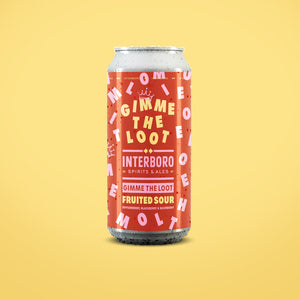 Interboro Brewery - Gimme The Loot Sour NEW ARRIVAL