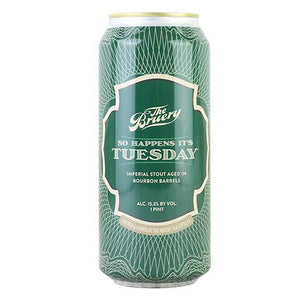 The Bruery - So Happens It's Tuesday Imperial Stout NEW ARRIVAL