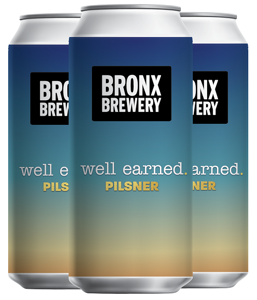 The Bronx Brewery - Well-Earned Pilsner