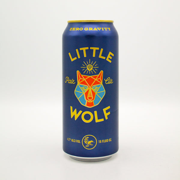 Zero Gravity - Little Wolf Pale Ale (Gluten Reduced)