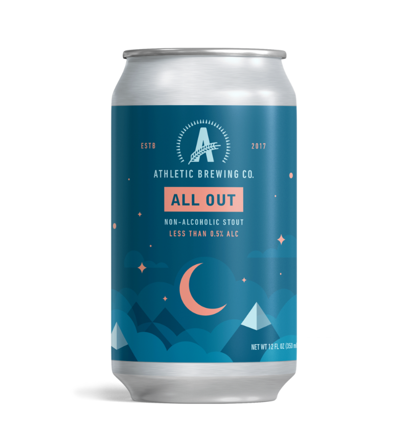 Athletic Brewing Co - All Out Stout (Non-Alc) NEW ARRIVAL