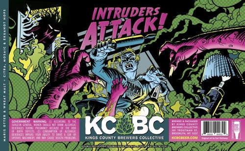 KCBC - Intruders Attack II IPA NEW ARRIVAL