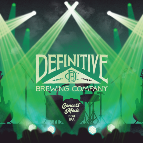 Definitive Brewing Co - Concert Mode IPA NEW ARRIVAL