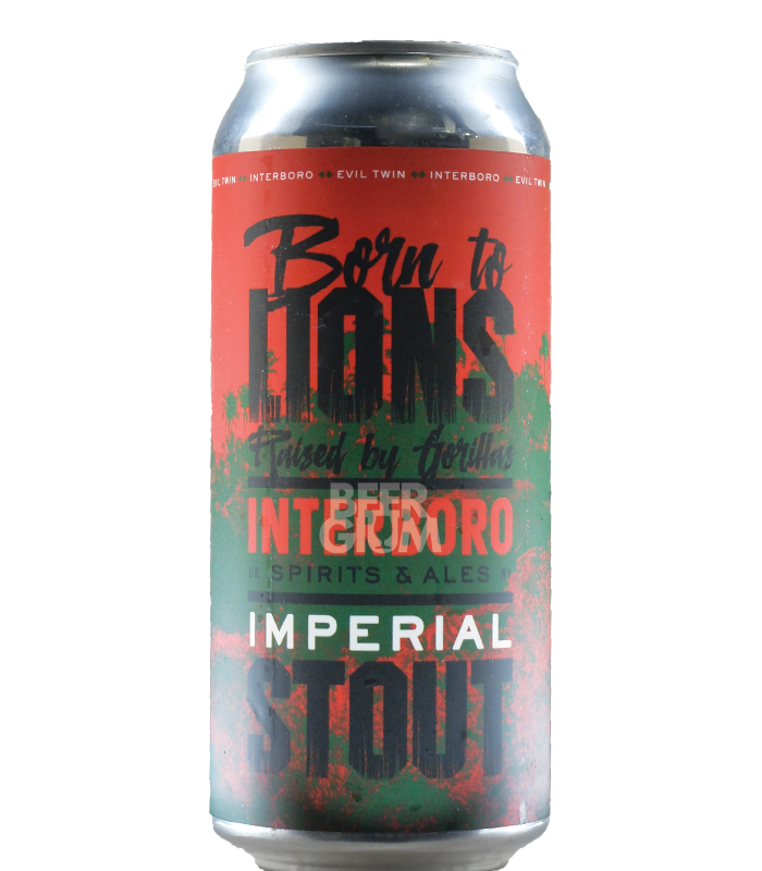 Interboro Spirits & Ales - Born to Lions, Raised By Gorillas Imperial Stout NEW ARRIVAL
