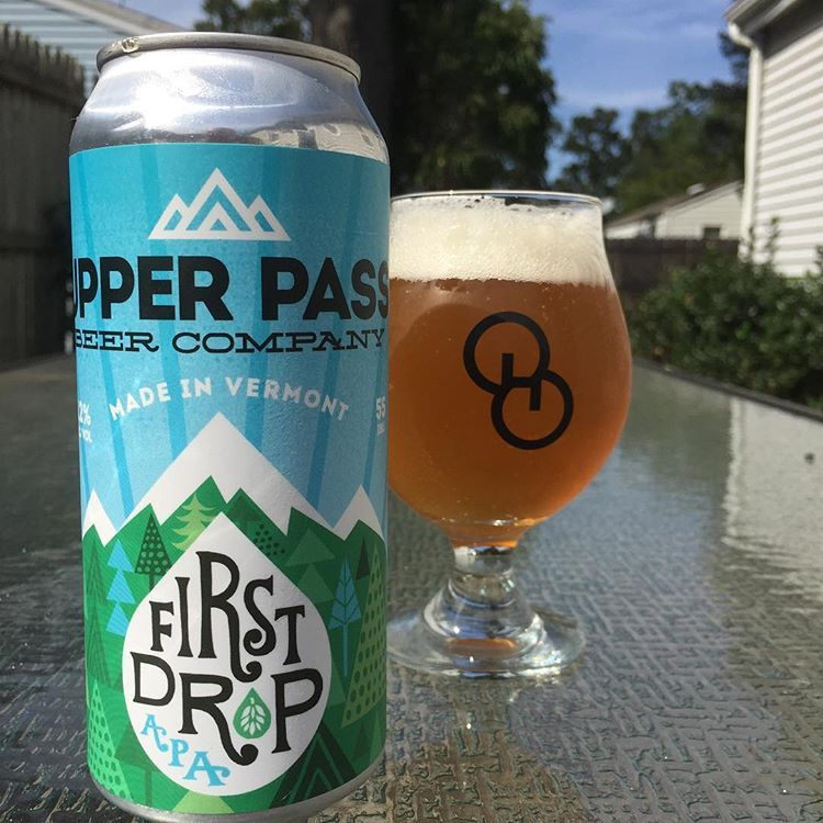Upper Pass Beer Co - First Drop Pale Ale NEW ARRIVAL