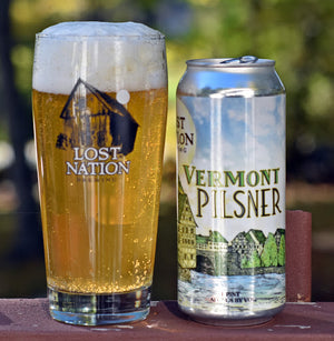 Lost Nation Brewing - Vermont Pilsner NEW ARRIVAL