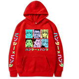 Sweat Hoodie Hunter x Hunter Protagoniste
