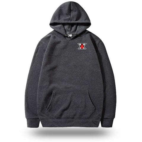 Sweat Hunter x Hunter <br> Logo - Marron