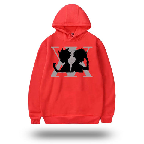 Sweat Hunter x Hunter <br> Gon x Kirua - Rouge