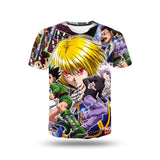 T-Shirt Hunter x Hunter Personnages 3D | Hxh Store