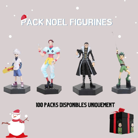 PACK NOËL FIGURINES