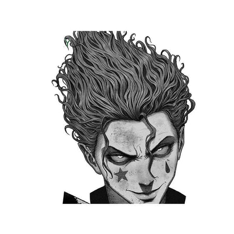 Sticker Mural Hunter x Hunter Hisoka Fureur