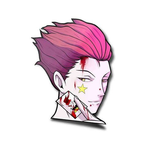 Sticker Mural Hunter x Hunter Hisoka Tueur