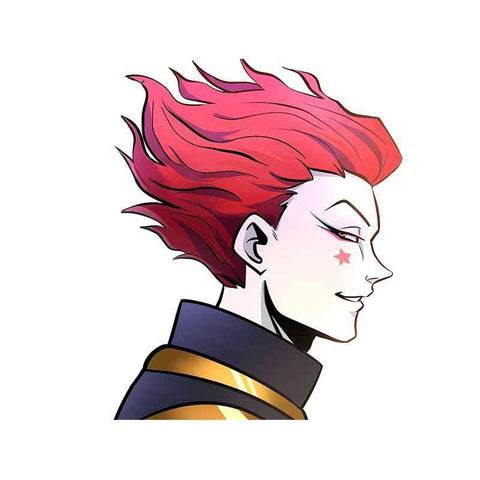 Sticker Mural Hunter x Hunter Hisoka Mefiant