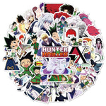 50 Autocollants Stickers Hunter x Hunter