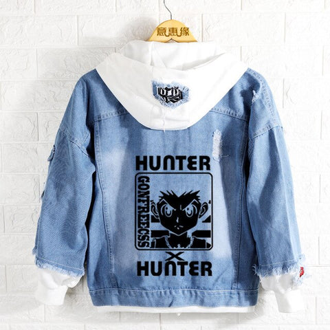 Veste Hunter x Hunter <br> Black Gon