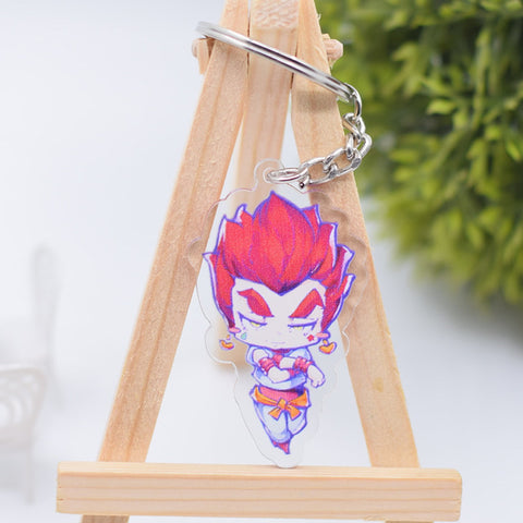 Porte-Clé Hunter x Hunter <br> Hisoka Pop