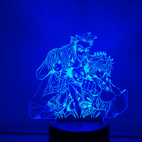 Lampe Hunter x Hunter <br> Personnages