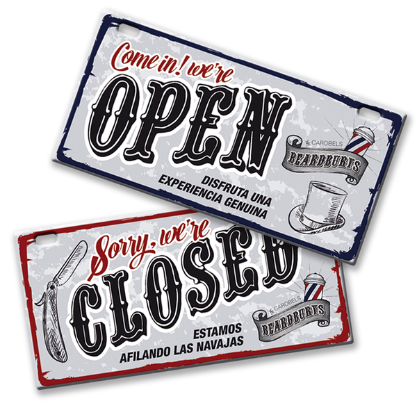 "Sign ""Open-Close"""