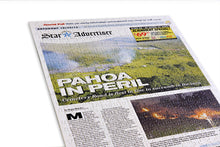 Load image into Gallery viewer, Honolulu Star-Advertiser Custom Front Page Jigsaw Puzzle