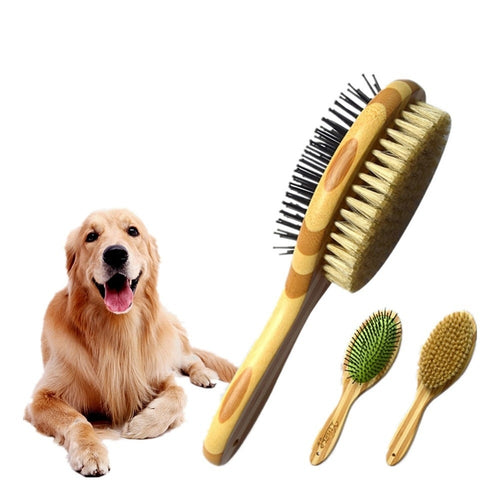 Hair Grooming Brush For Dogs - Gopetsgrooming.com