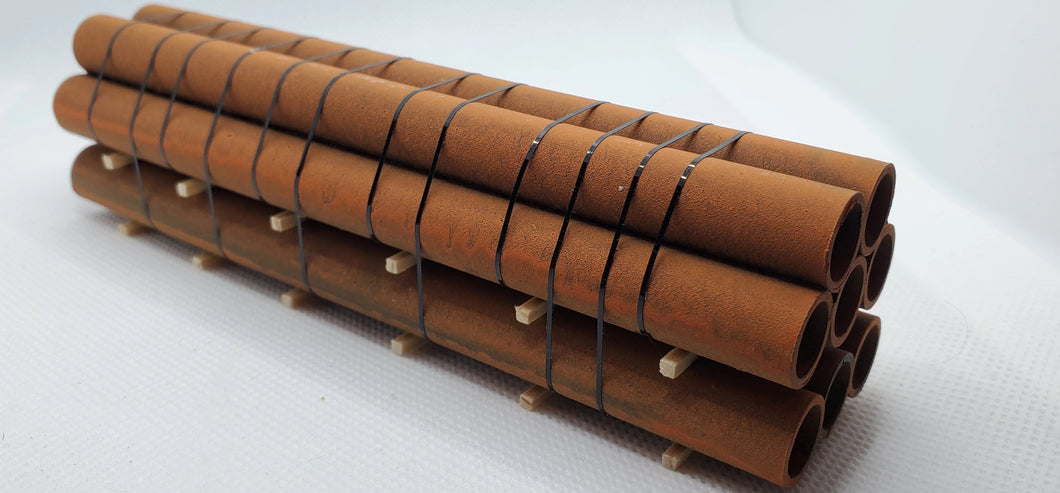 11541 Large Rusty Pipes HO Scale