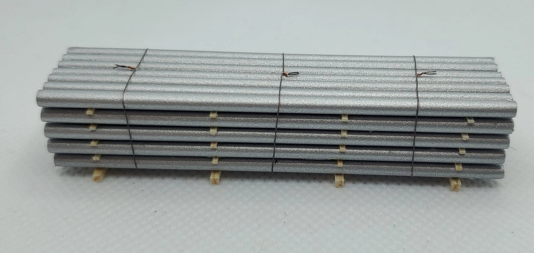 13545 Silver Pipe Load N Scale