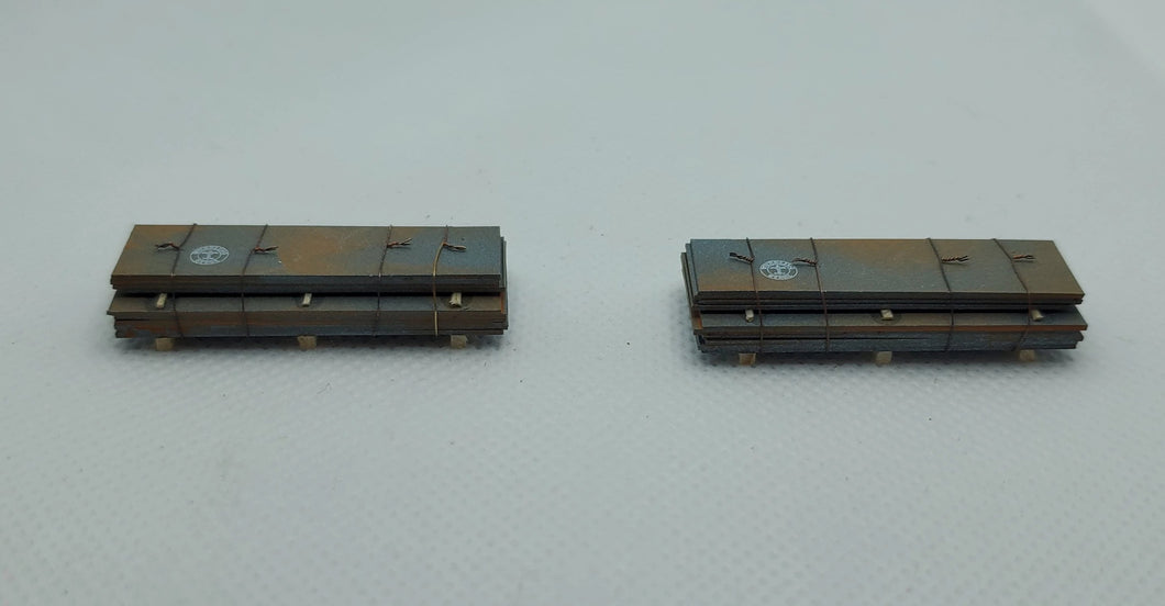 13530 2 Sheet Metal stacks N Scale
