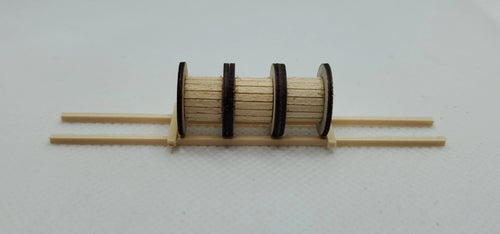 13552 3 Wooden Cable Drums