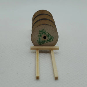 "13552 3 Wooden Cable Drums ""General Cable"" N Scale"