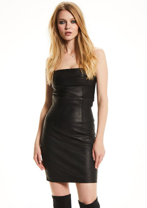 HIGH STREET Leather Skirt
