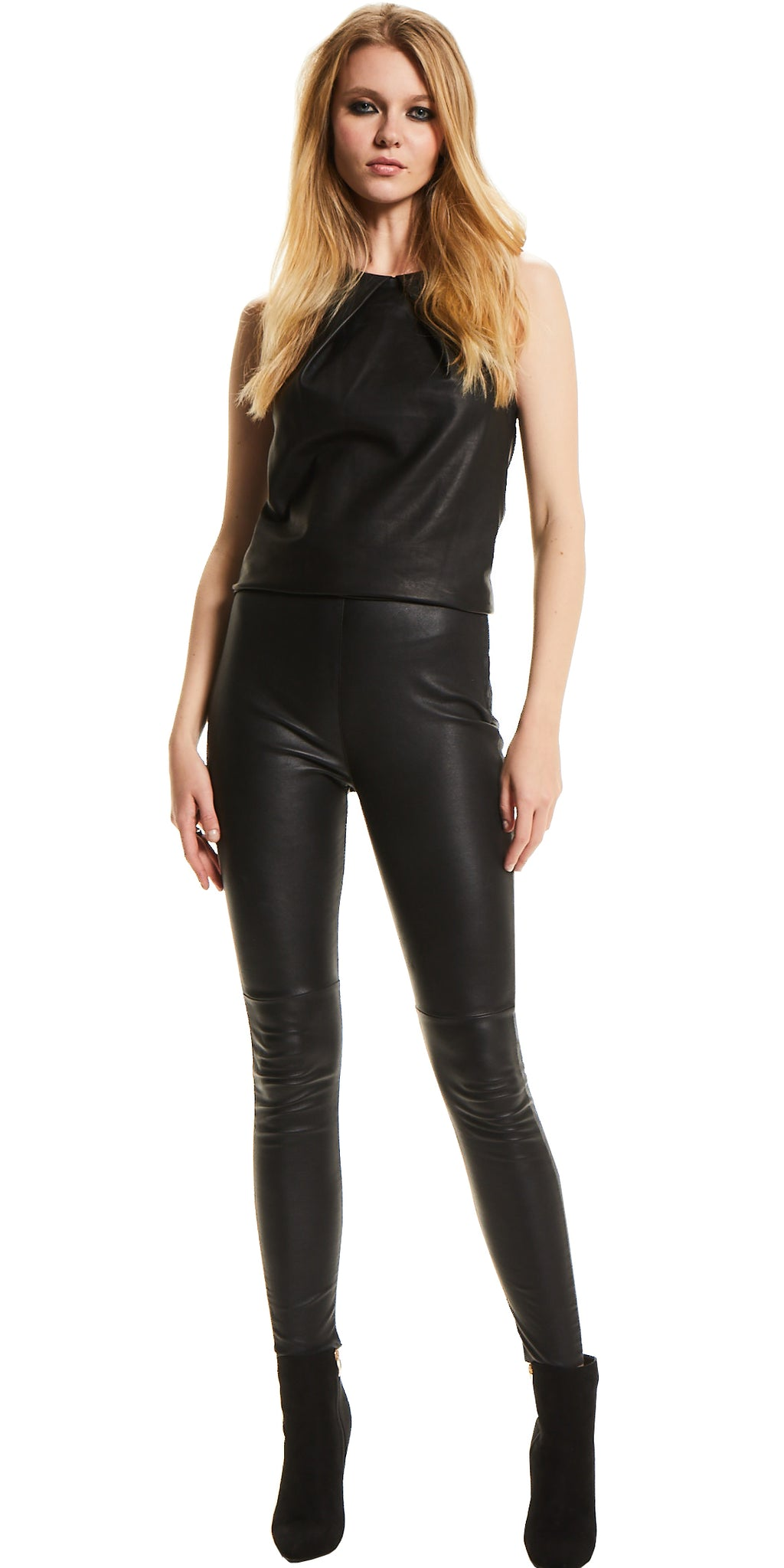 P A C I N O   Stretch Leather Pants