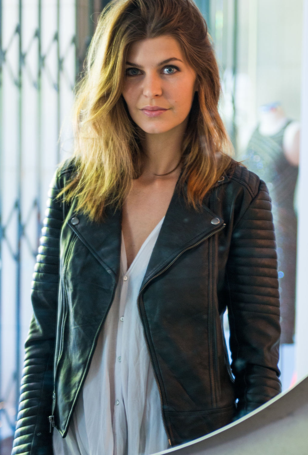 H A R L O W   Leather Jacket